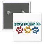 BERNESE MOUNTAIN DOG MOM Paw Print Pin