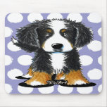 Bernese Mountain Dog Mouse Pads