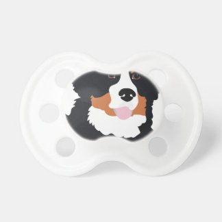 Bernese Mountain Dog Pacifier