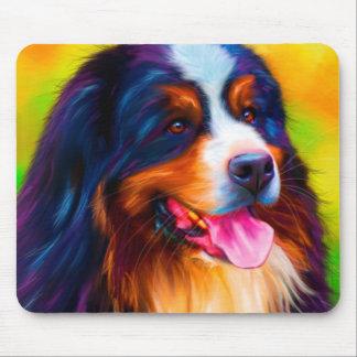 Bernese Mountain Dog Painting - Heidi Mousepad