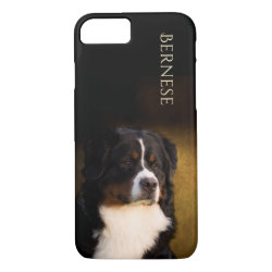 Case-Mate Barely There iPhone 7 Case with Bernese Mountain Dog Phone Cases design