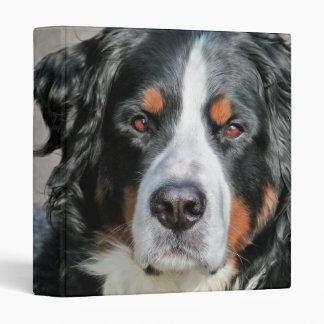 Bernese Mountain Dog Photo Image Vinyl Binder