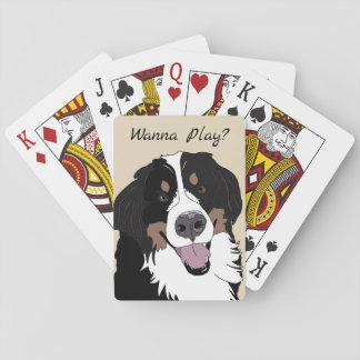 Bernese Mountain Dog Playing Cards