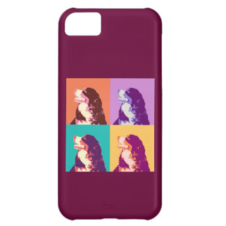 Bernese Mountain Dog Pop Art Cover For iPhone 5C