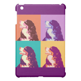 Bernese Mountain Dog Pop Art Cover For The iPad Mini