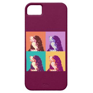 Bernese Mountain Dog Pop Art iPhone SE/5/5s Case