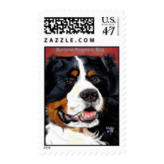 Bernese Mountain dog postage