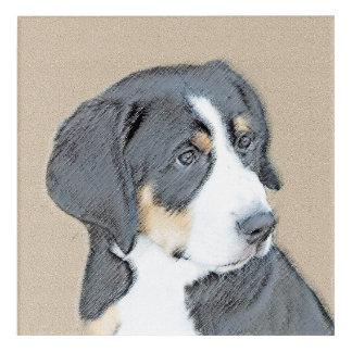 Bernese Mountain Dog Puppy Acrylic Wall Art