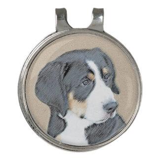Bernese Mountain Dog Puppy Golf Hat Clip