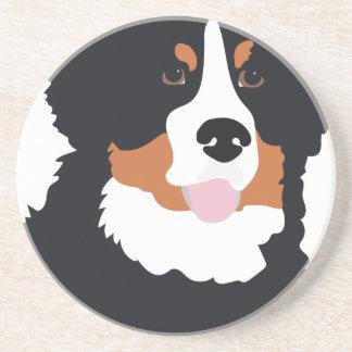 Bernese Mountain Dog Sandstone Coaster