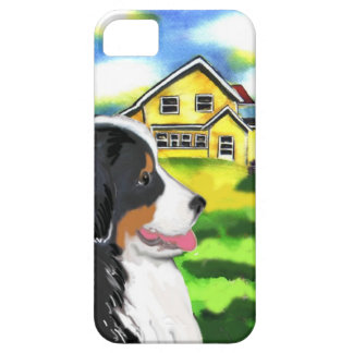 bernese mountain dog scene iPhone SE/5/5s case