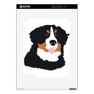 Bernese Mountain Dog Skin For iPad 2