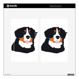 Bernese Mountain Dog Skin For Kindle Fire