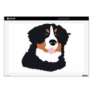 Bernese Mountain Dog Skin For Laptop