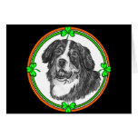 Bernese Mountain Dog St. Pats Cards