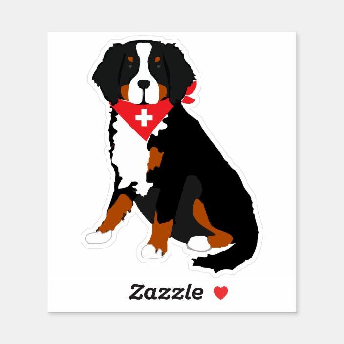 G1054 Bernese Mom Dog Breed Decal Sticker