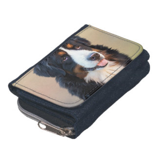 Bernese mountain dog, the obedient dog wallet