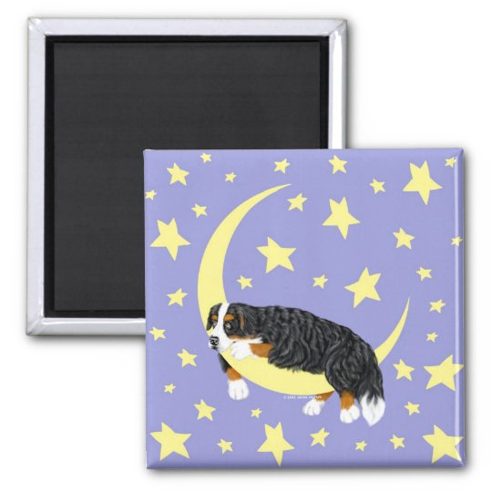 Bernese Mountain Dog Twinkle Magnet
