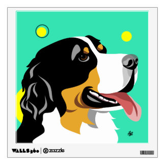 Bernese Mountain Dog Wall Decals