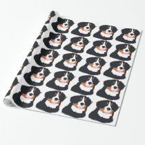 Bernese Mountain Dog Wrapping Paper