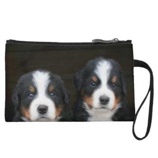 Bernese mountain dogs wristlet