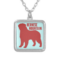 Bernese Mountain Necklace