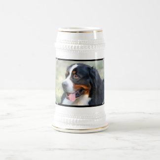 Bernese Mountain Puppy Beer Stein Mug