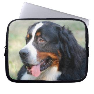 Bernese Mountain Puppy Laptop Sleeve