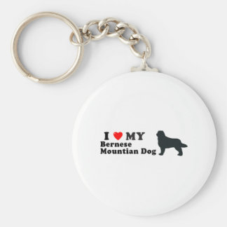 Bernese Mountian Dog Key Chain