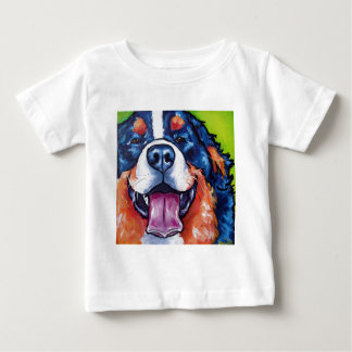Bernese Mt Dog Baby T-Shirt