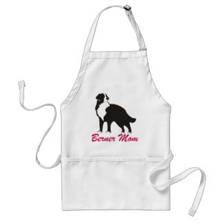 Bernese Mt Dog Berner Mom Adult Apron