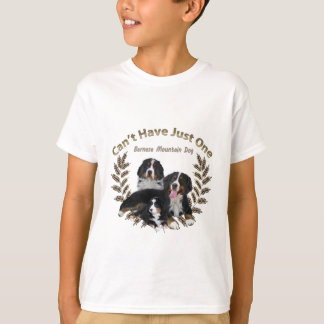 Bernese Mt. Dog Can't Have Just One T-Shirt