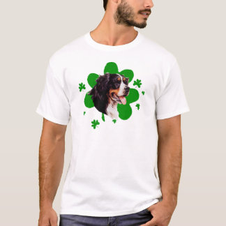 Bernese Mt. Dog St. Patrick's Day T-Shirt