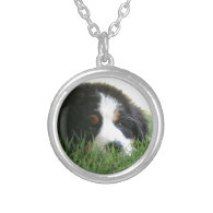 Bernese Puppy Pendant