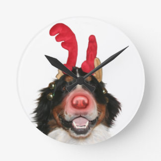 Bernese Roodolph (Rudolph) Round Clock