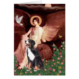 Bernese - Seated Angel Card