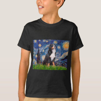 Bernese - Starry Night T-Shirt