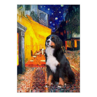 Bernese - Terrace Cafe Poster