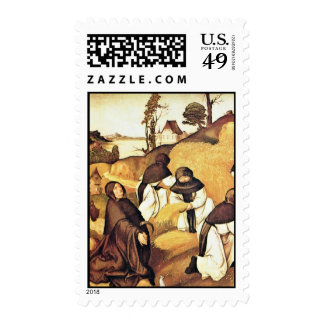Bernhard Altar Scenes From The Life Of Saint Berna Stamps