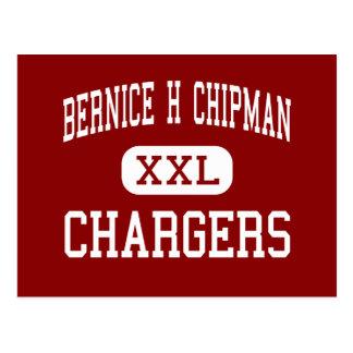 Bernice H Chipman - Chargers - Bakersfield Postcard