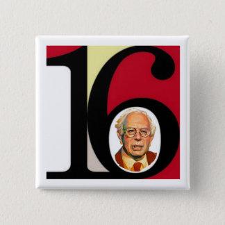 Bernie '16 pinback button
