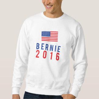 Bernie 2016 con la bandera americana sudadera