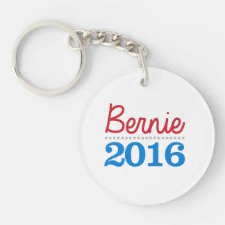Bernie 2016 cursive - Bernie Sanders for President Keychain