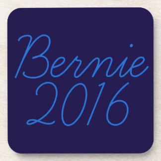 Bernie 2016 Cursive Coaster
