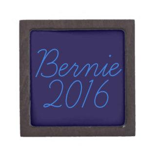 Bernie 2016 Cursive Keepsake Box