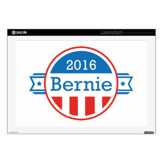 """Bernie 2016 decal for 17"""" laptop"""