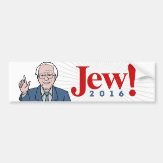 Bernie 2016 - Judío 2016 - Chorreadoras de Bernie Pegatina Para Auto