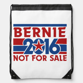 Bernie 2016 not for sale drawstring bag