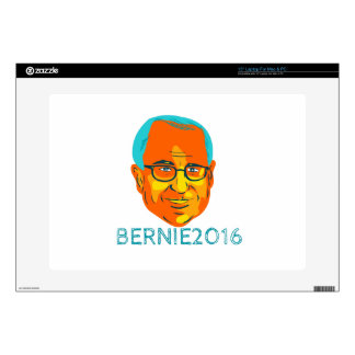 "Bernie 2016 President WPA Decal For 15"" Laptop"