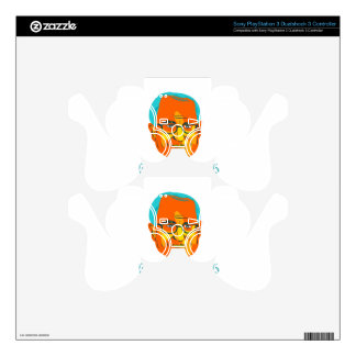 Bernie 2016 President WPA Decal For PS3 Controller